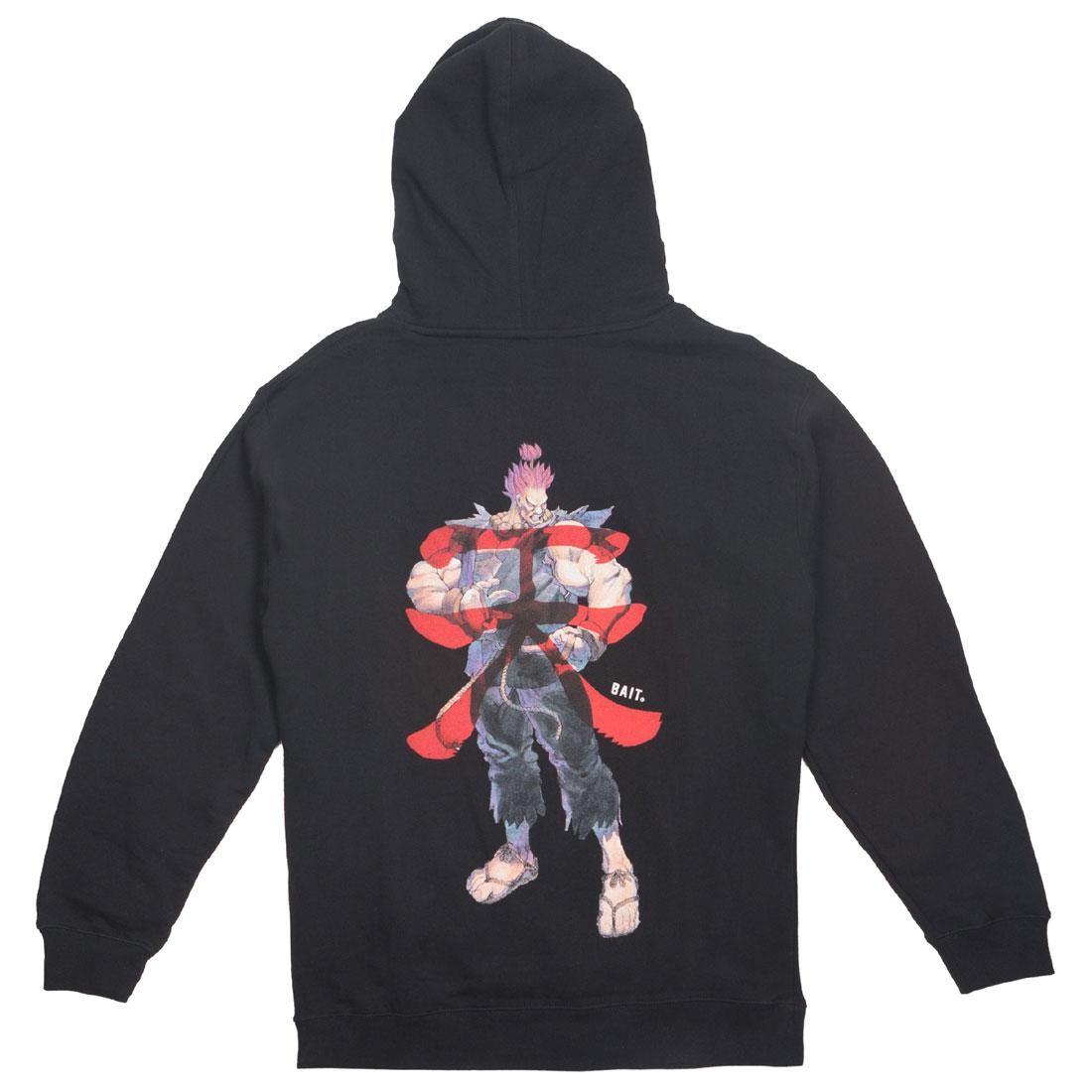 【海外限定】ストリート ファイター フーディー パーカー メンズファッション 【 STREET BAIT X FIGHTER MEN AKUMA HOODY BLACK 】