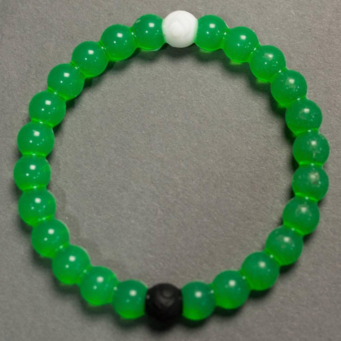 ブレスレット ジュエリー アクセサリー メンズジュエリー メンズ 【 Lokai Bracelet - Limited Edition Nature Conservancy (green) 】 Green