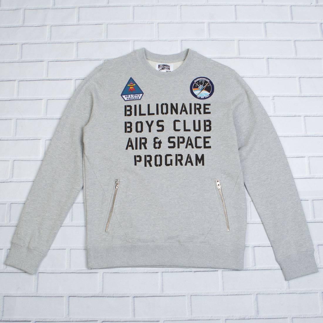【海外限定】クラブ メンズファッション Tシャツ 【 BILLIONAIRE BOYS CLUB MEN PROGRAM CREW SWEATER GRAY HEATHER 】