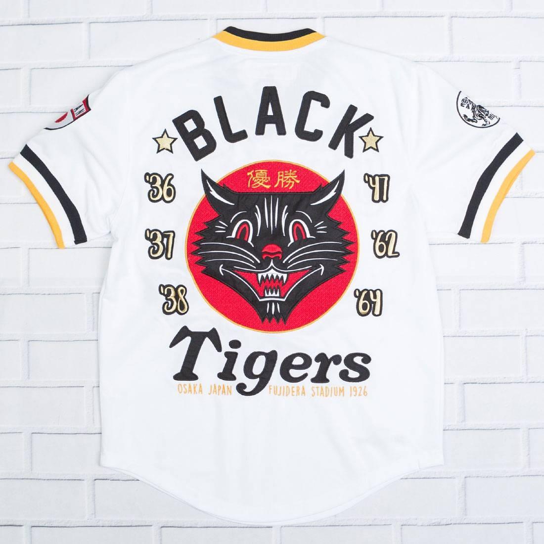 【海外限定】黒 ブラック OSAKA タイガース ジャージ Tシャツ カットソー JERSEY【 BLACK【 IRO OCHI MEN OSAKA TIGERS AWAY JERSEY WHITE】, ZeeShop:5a14ef13 --- sunward.msk.ru