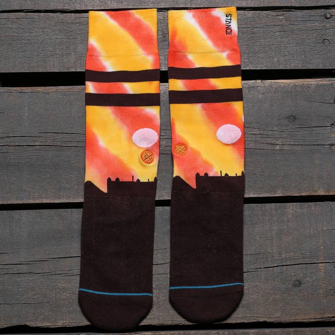 スタンス STANCE ソックス 靴下 インナー 下着 ナイトウエア メンズ 下 レッグ 【 X Star Wars Tatooine Socks (orange) 】 Orange