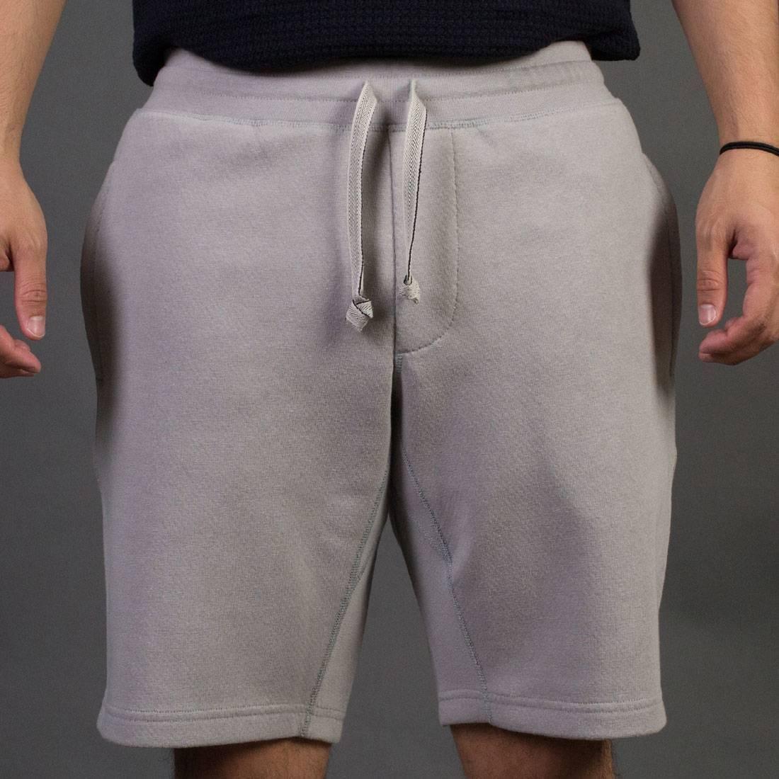 ショーツ ハーフパンツ ソリッド + 【 ADIDAS X WINGS HORNS MEN BONDED LINEN SHORTS GRAY SOLID GREY 】 メンズファッション ズボン パンツ 送料無料
