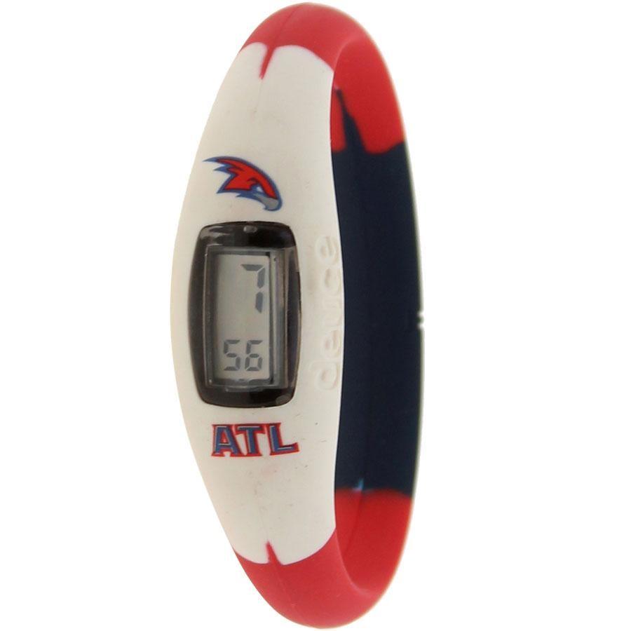 アトランタ ホークス ウォッチ 時計 赤 レッド 白 ホワイト 黒 ブラック 【 WATCH RED WHITE BLACK DEUCE BRAND NBA ATLANTA HAWKS 】 腕時計 メンズ腕時計