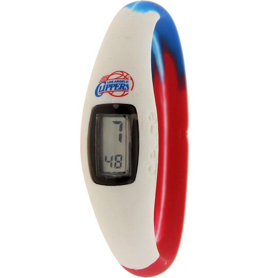 クリッパーズ ウォッチ 時計 青 ブルー 白 ホワイト 赤 レッド 【 WATCH BLUE WHITE RED DEUCE BRAND NBA LOS ANGELES CLIPPERS 】 腕時計 メンズ腕時計