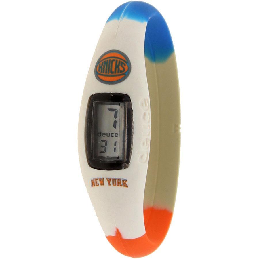 ニックス ウォッチ 時計 青 ブルー 白 ホワイト 橙 オレンジ 【 WATCH BLUE WHITE ORANGE DEUCE BRAND NBA NEW YORK KNICKS 】 腕時計 メンズ腕時計
