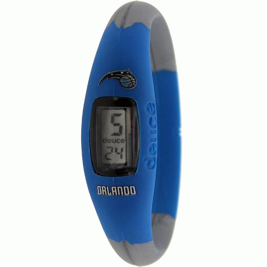 オーランド マジック ウォッチ 時計 青 ブルー GRAY灰色 グレイ 【 WATCH BLUE GREY DEUCE BRAND NBA ORLANDO MAGIC 】 腕時計 メンズ腕時計