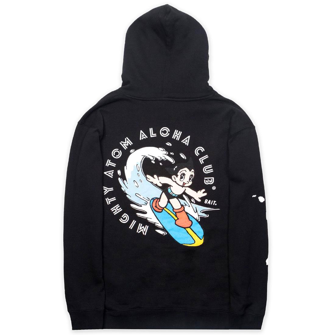 【海外限定】フーディー パーカー トップス 【 BAIT X ASTRO BOY MEN ALOHA SURF HOODY BLACK 】
