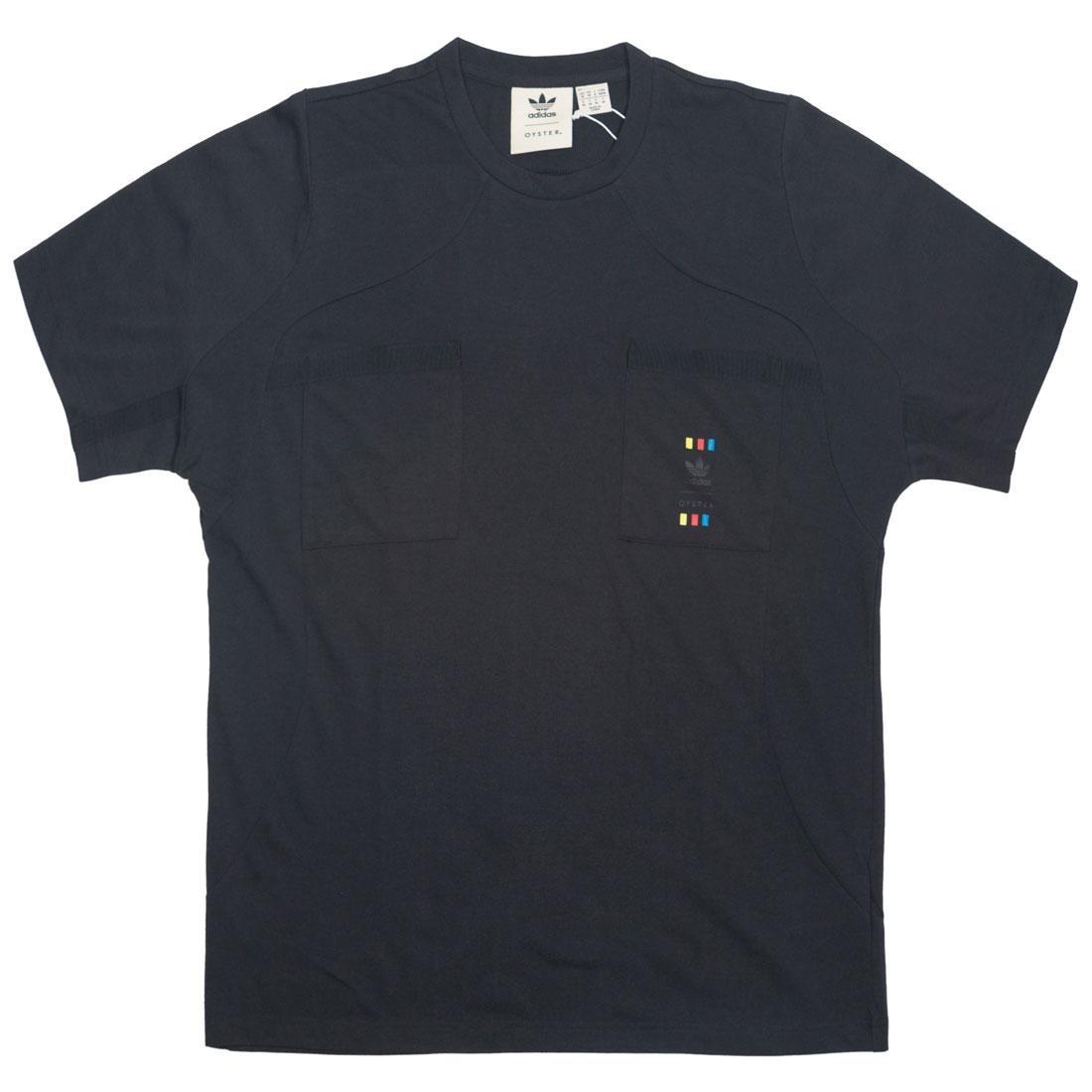 【スーパーセール中! 6/11深夜2時迄】アディダス ADIDAS スリーブ Tシャツ メンズファッション トップス カットソー メンズ 【 X Oyster Holdings Men 72 Hour Oyster Short Sleeve Tee (black) 】 Black