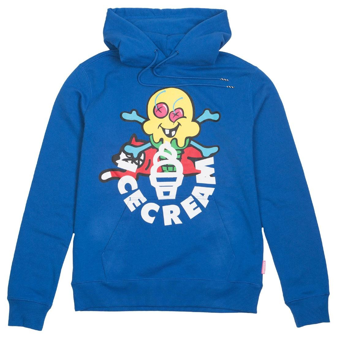 【海外限定】クリーム フーディー パーカー メンズファッション 【 ICE CREAM MEN LICORICE HOODY BLUE 】