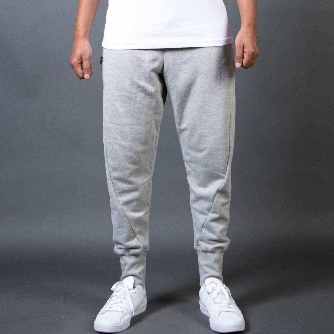 【海外限定】ズボン メンズファッション 【 BAIT MEN FRENCH TERRY JOGGER PANTS MADE IN LA GRAY HEATHER 】