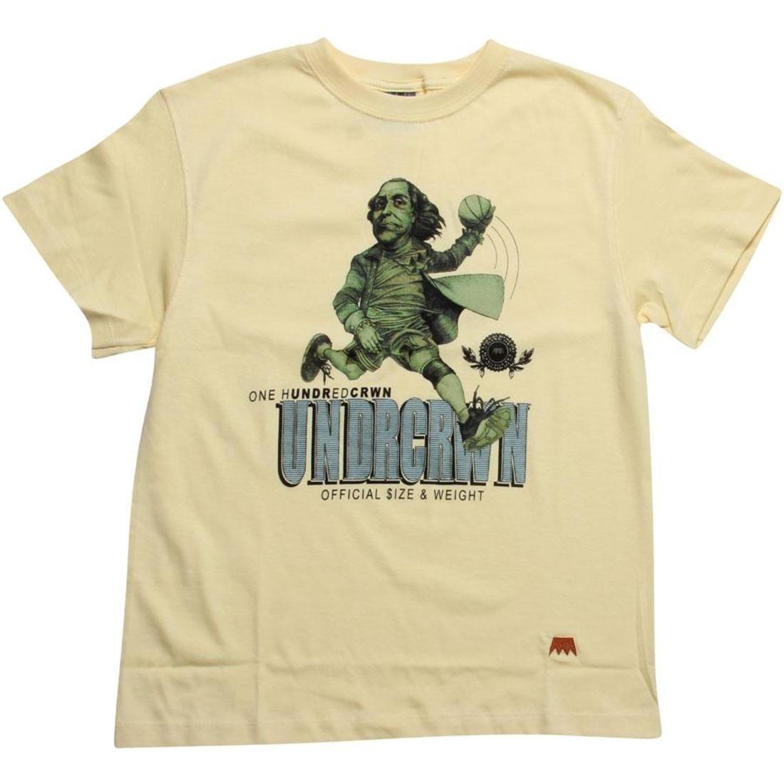 【海外限定】Tシャツ メンズファッション トップス 【 UNDER CROWN ONEHUNDREDCRWN TEE CANARY 】