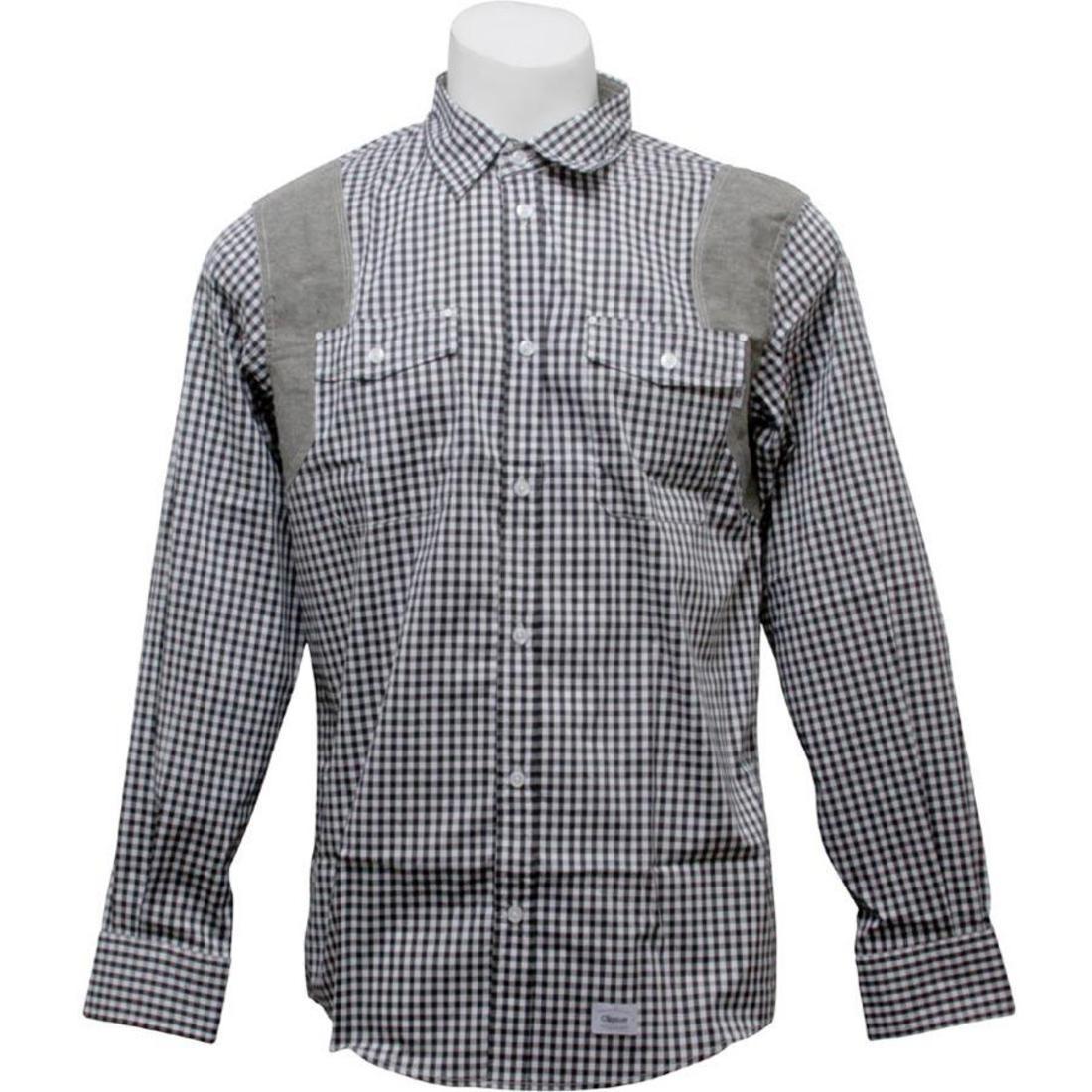 ピッツバーグ 黒 ブラック 【 BLACK ORISUE PITTSBURGH SHIRT 】 メンズファッション トップス カジュアルシャツ