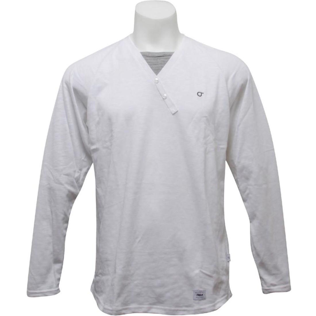 スリーブ ニット Tシャツ 白 ホワイト 【 SLEEVE WHITE ORISUE DOAN LONG AWESOME KNIT TEE 】 メンズファッション トップス Tシャツ カットソー