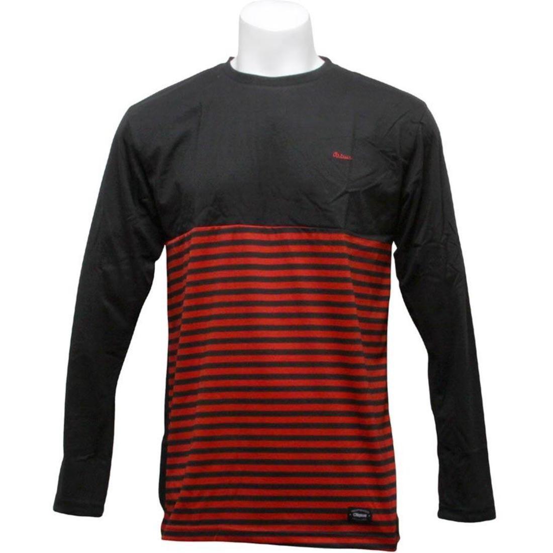 【海外限定】スリーブ ニット Tシャツ LONG カットソー RED メンズファッション【 SLEEVE ORISUE BLACK BENTON LONG KNIT TEE BLACK RED】, アショロチョウ:817f865d --- officewill.xsrv.jp
