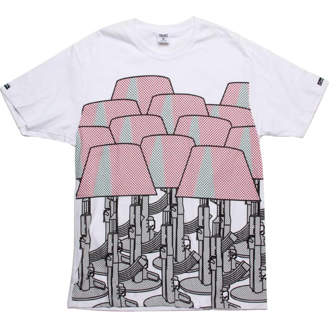 【海外限定】Tシャツ メンズファッション トップス 【 CROOKS AND CASTLES STARCK REALITY TEE WHITE 】