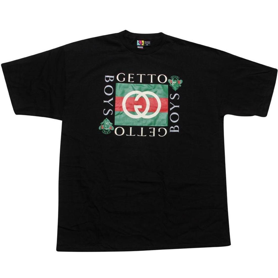 【海外限定】Tシャツ トップス 【 ROCK SMITH GHETTO BOYS TEE BLACK 】