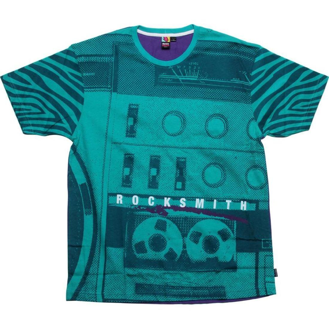 【海外限定】Tシャツ トップス 【 ROCK SMITH RADIO TEE SEAFOAM PURPLE 】