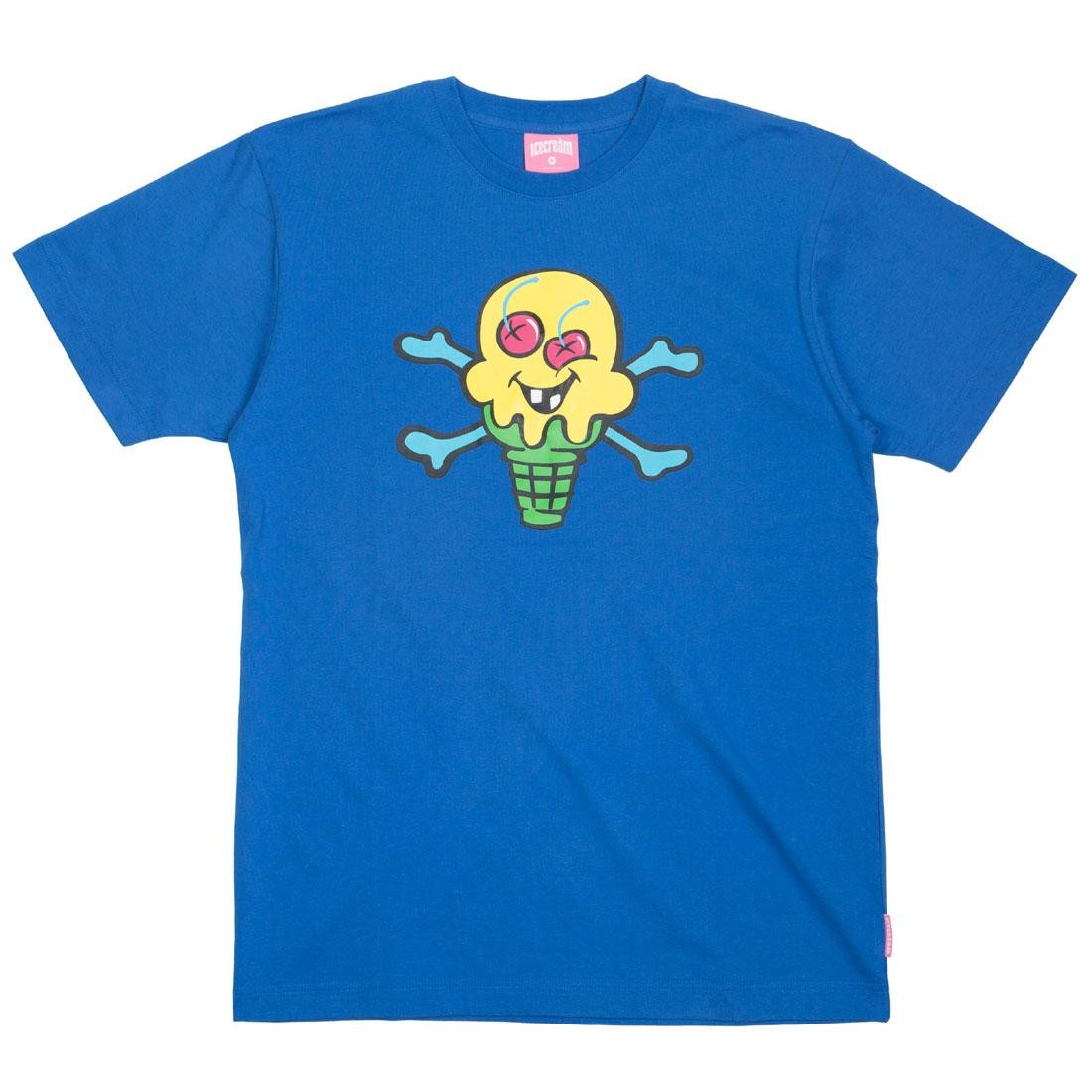 クリーム Tシャツ 【 ICE CREAM MEN HEATH TEE BLUE 】 メンズファッション トップス カットソー