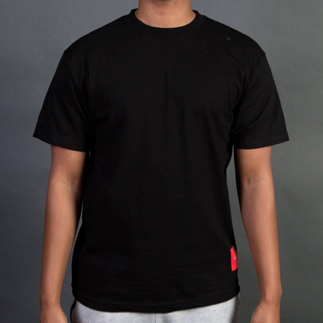 Tシャツ 黒 ブラック 【 BLACK STAPLE MEN STPL CORNER TEE 】 メンズファッション トップス Tシャツ カットソー