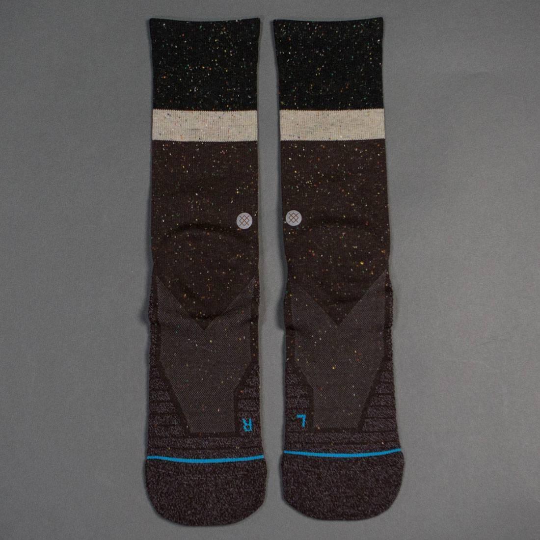 スタンス STANCE プレミアム ソックス 靴下 インナー 下着 ナイトウエア メンズ 下 レッグ 【 Premium Topstitch Men Atacama Crew Socks (brown) 】 Brown