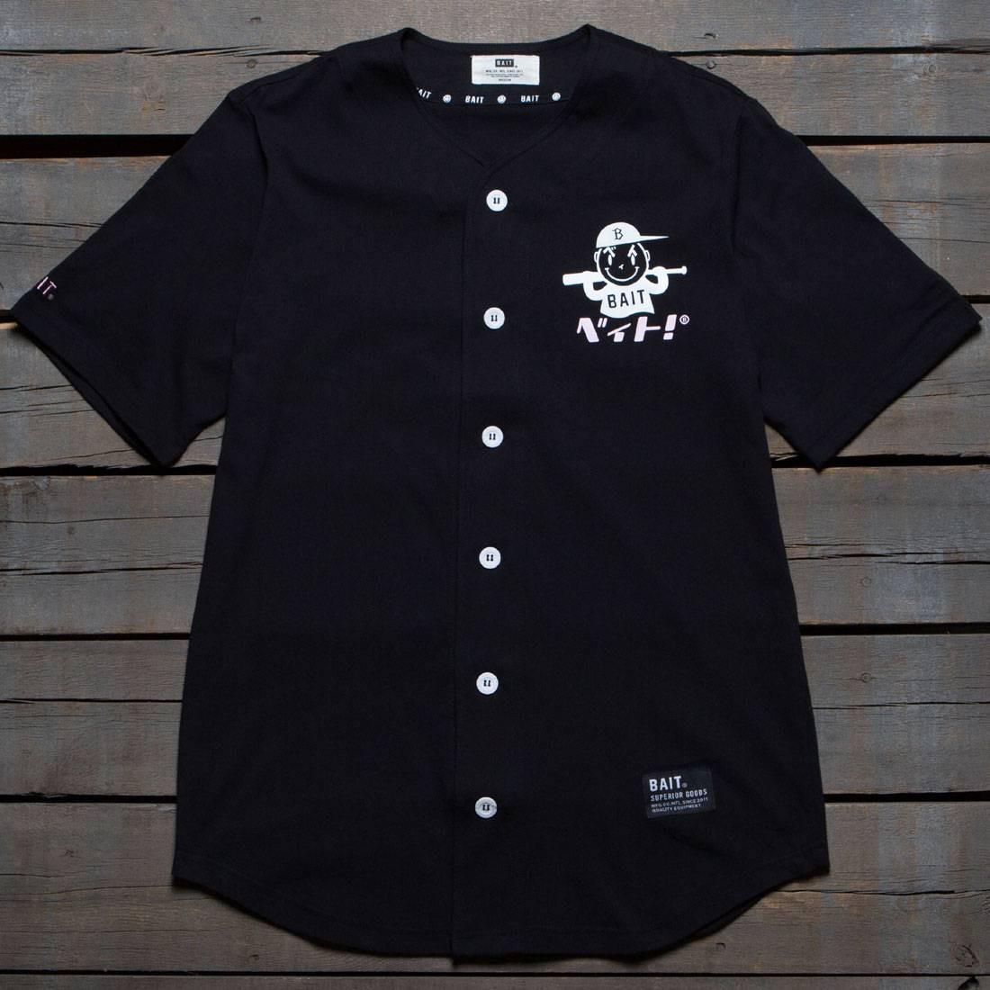 【海外限定 Tシャツ】ロゴ ベースボール ジャージ カットソー Tシャツ BLACK【 NIPPON BAIT MEN NIPPON LOGO BASEBALL JERSEY SHIRT BLACK】, 九州トータルプランニング:e184d62b --- officewill.xsrv.jp