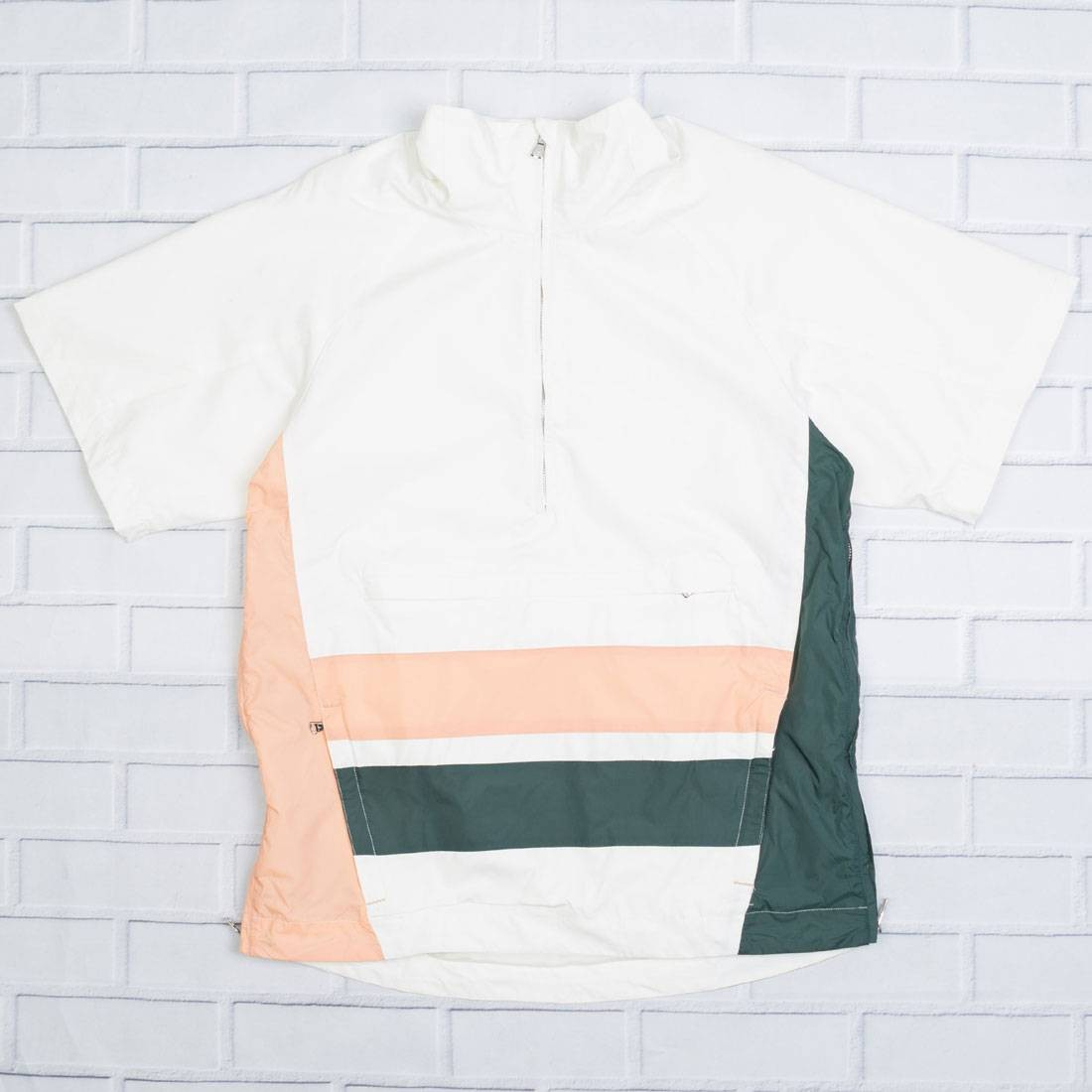 スリーブ ピンク 白 ホワイト 緑 グリーン 【 SLEEVE PINK WHITE GREEN LIFTED ANCHORS MEN ELLIOT SHORT TOP 】 メンズファッション トップス カジュアルシャツ