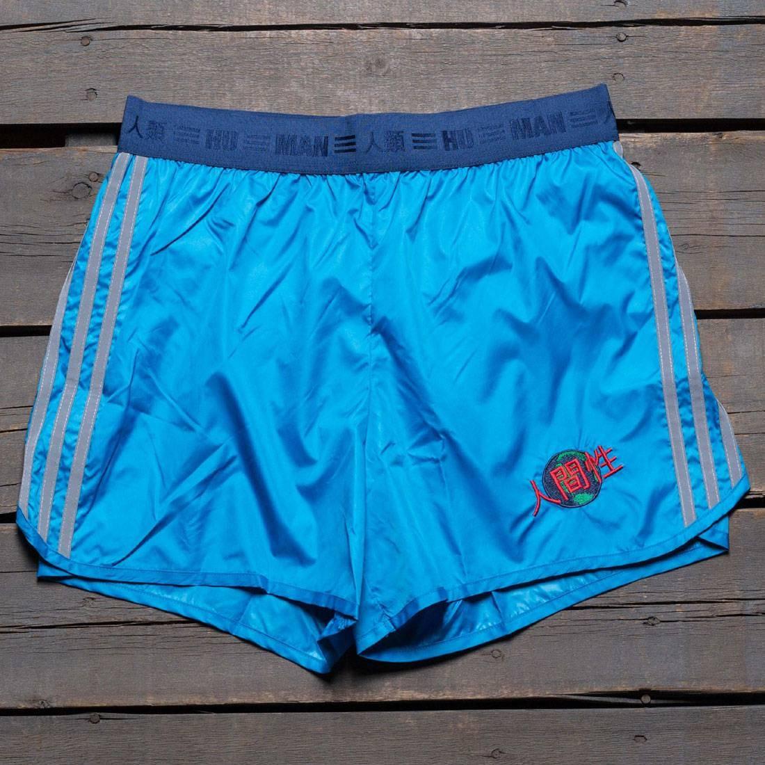 【海外限定】アディダス ショーツ ハーフパンツ メンズファッション ズボン 【 ADIDAS X PHARRELL WILLIAMS MEN HU RACE SHORTS BLUE SHARP 】