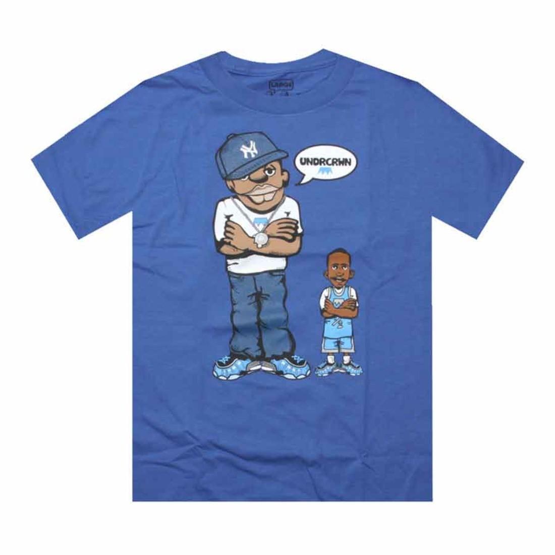 アンダークラウン Tシャツ 青 ブルー PICKYOURSHOES.COM 【 BLUE UNDRCRWN EXCLUSIVE MVPENNY TEE ROYAL 】 メンズファッション トップス Tシャツ カットソー