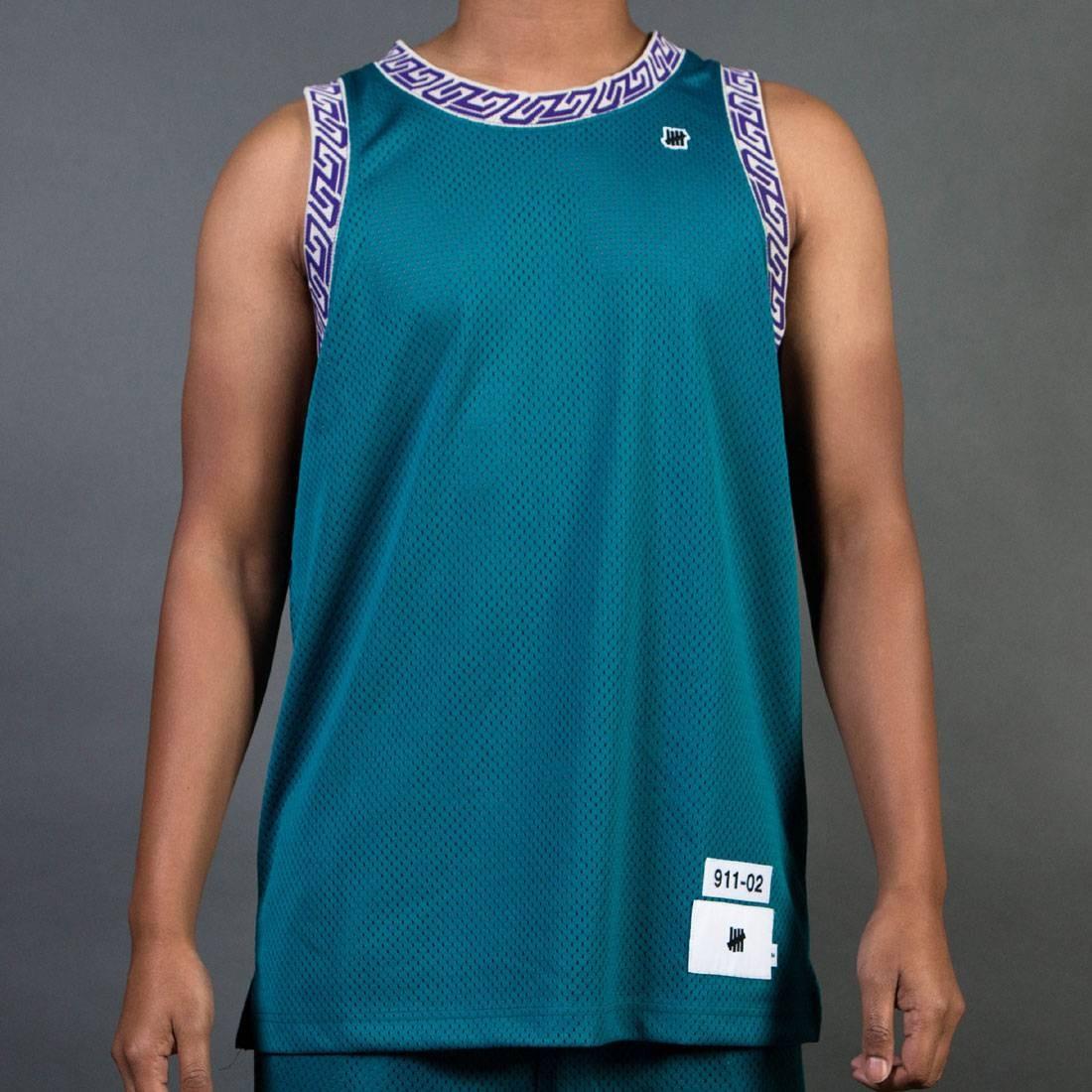 【海外限定】オーセンティック バスケットボール ジャージ JERSEY トップス トップス Tシャツ TEAL【 UNDEFEATED MEN AUTHENTIC BASKETBALL JERSEY TEAL GREEN】【送料無料】, possible:fd94a080 --- officewill.xsrv.jp