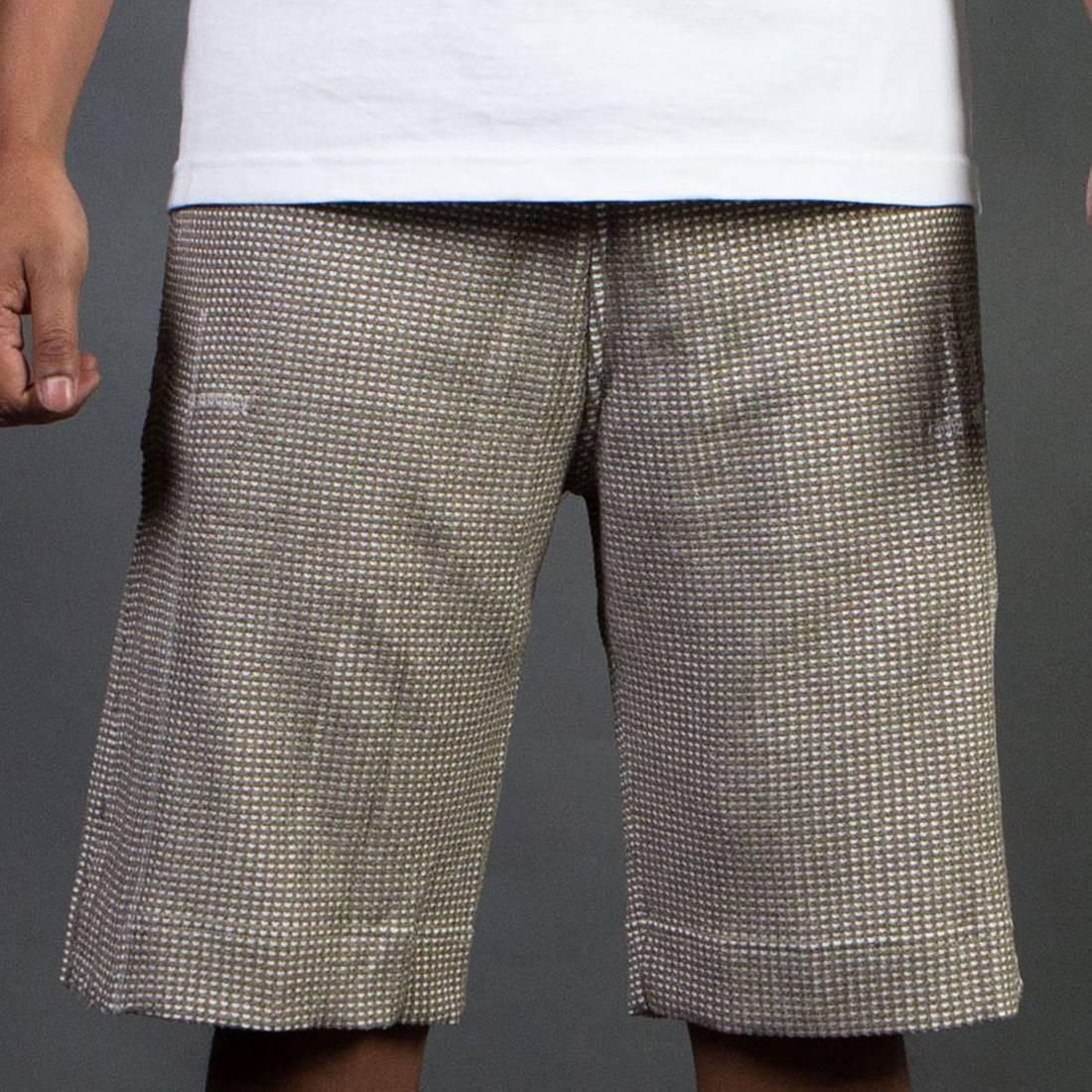 【海外限定】アディダス ワッフル ショーツ ハーフパンツ メンズファッション パンツ 【 ADIDAS CONSORTIUM DAY ONE MEN WAFFLE SHORTS BROWN LIGHT 】