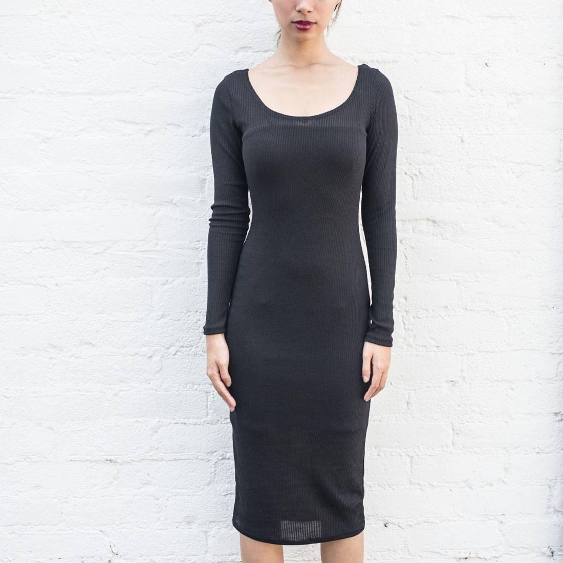 ベイト BAIT ドレス 黒 ブラック 【 BLACK BAIT WOMEN BODY CON DRESS WITH INNER SLIP MADE IN LA 】 レディースファッション ワンピース