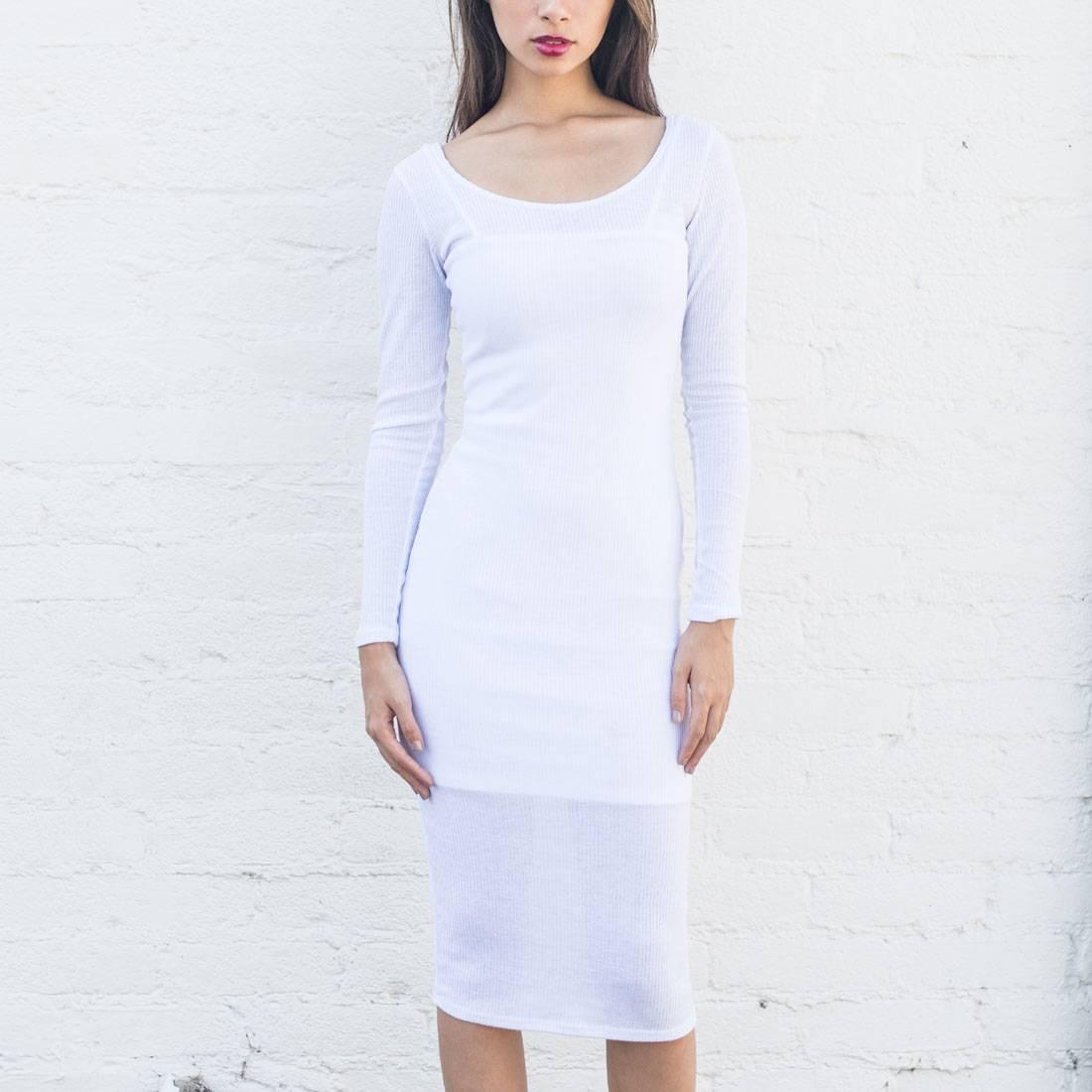 ベイト BAIT ドレス 白 ホワイト 【 WHITE BAIT WOMEN BODY CON DRESS WITH INNER SLIP MADE IN LA 】 レディースファッション ワンピース
