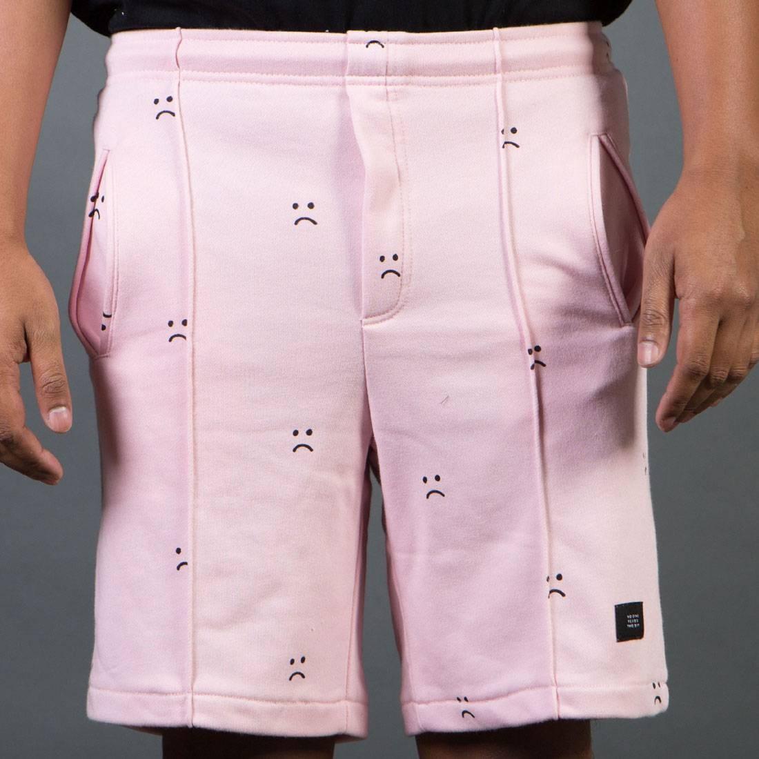 ピンク ショーツ ハーフパンツ 【 PINK LAZY OAF MEN SAD SHORTS 】 メンズファッション ズボン パンツ