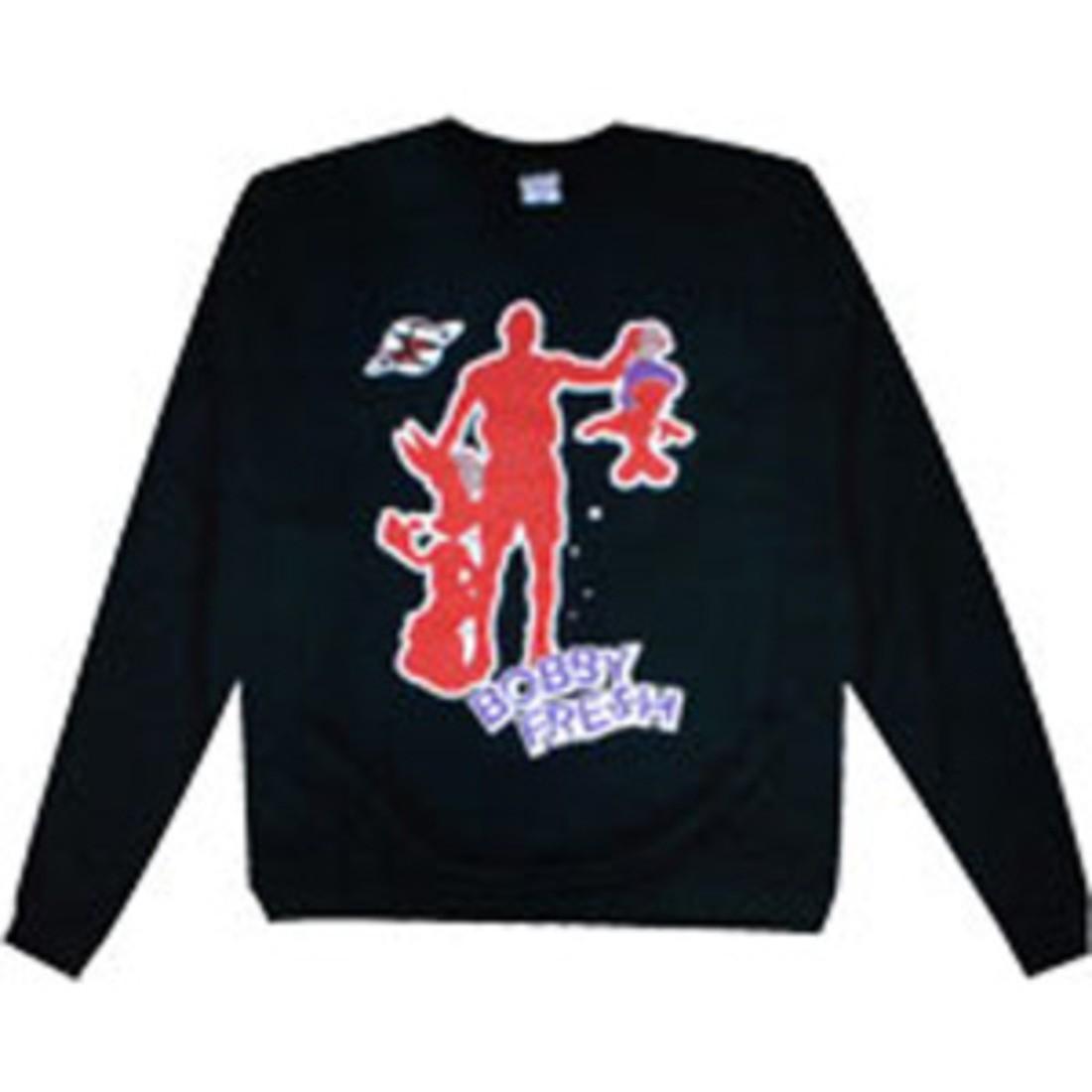 フレッシュ 黒 ブラック 【 BLACK BOBBY FRESH SPACEJ SWEATER 】 メンズファッション トップス Tシャツ カットソー