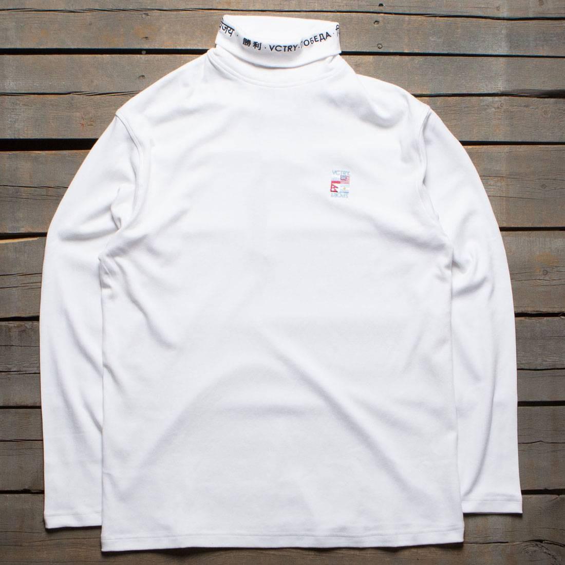 ディープ 【 10 DEEP MEN EXPEDITION TURTLENECK SHIRT WHITE 】 メンズファッション トップス カジュアルシャツ 送料無料