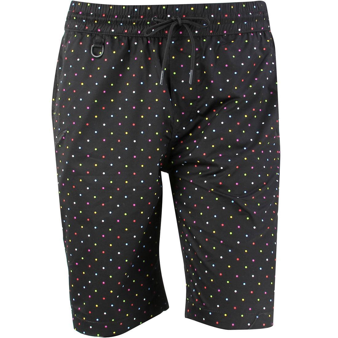 パブリッシュ ショーツ ハーフパンツ 黒 ブラック 【 BLACK PUBLISH MEN SIMON SHORTS MULTI 】 メンズファッション ズボン パンツ