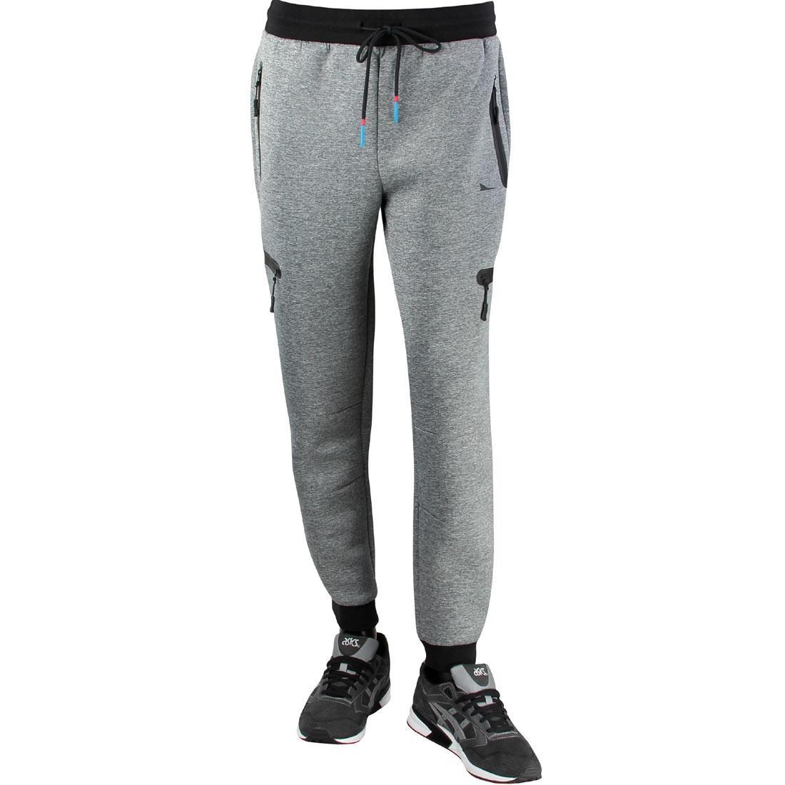 灰色 グレー グレイ 【 GRAY BRANDBLACK MEN VECTOR PANTS 】 メンズファッション ズボン パンツ