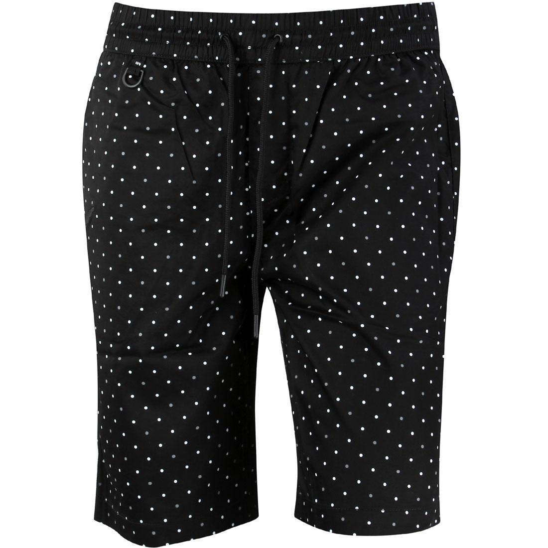 パブリッシュ ショーツ ハーフパンツ 黒 ブラック 【 BLACK PUBLISH MEN SIMON 3M SHORTS 】 メンズファッション ズボン パンツ