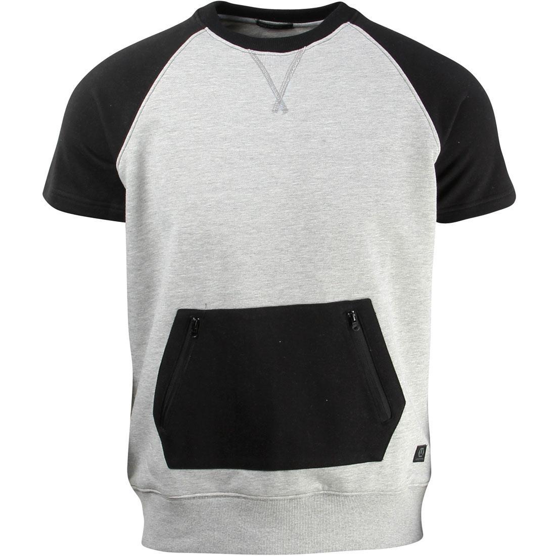 【スーパーセール中! 6/11深夜2時迄】スリーブ Tシャツ メンズファッション トップス カットソー メンズ 【 Unyforme Men Forsyth Short Sleeve Tee (gray / Heather) 】 Gray / Heather