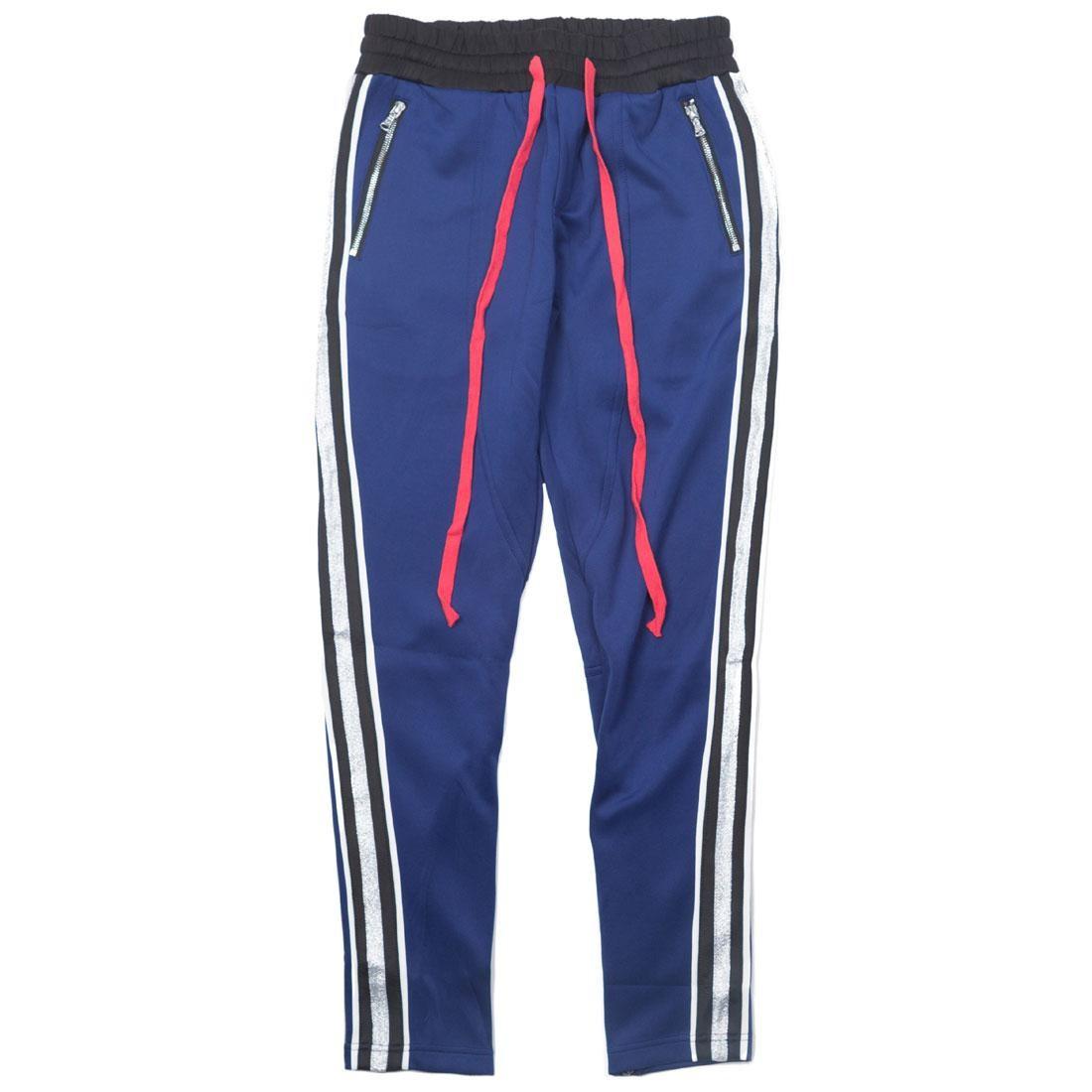 紺 ネイビー 【 NAVY LIFTED ANCHORS MEN JENNER PANTS 】 メンズファッション ズボン パンツ
