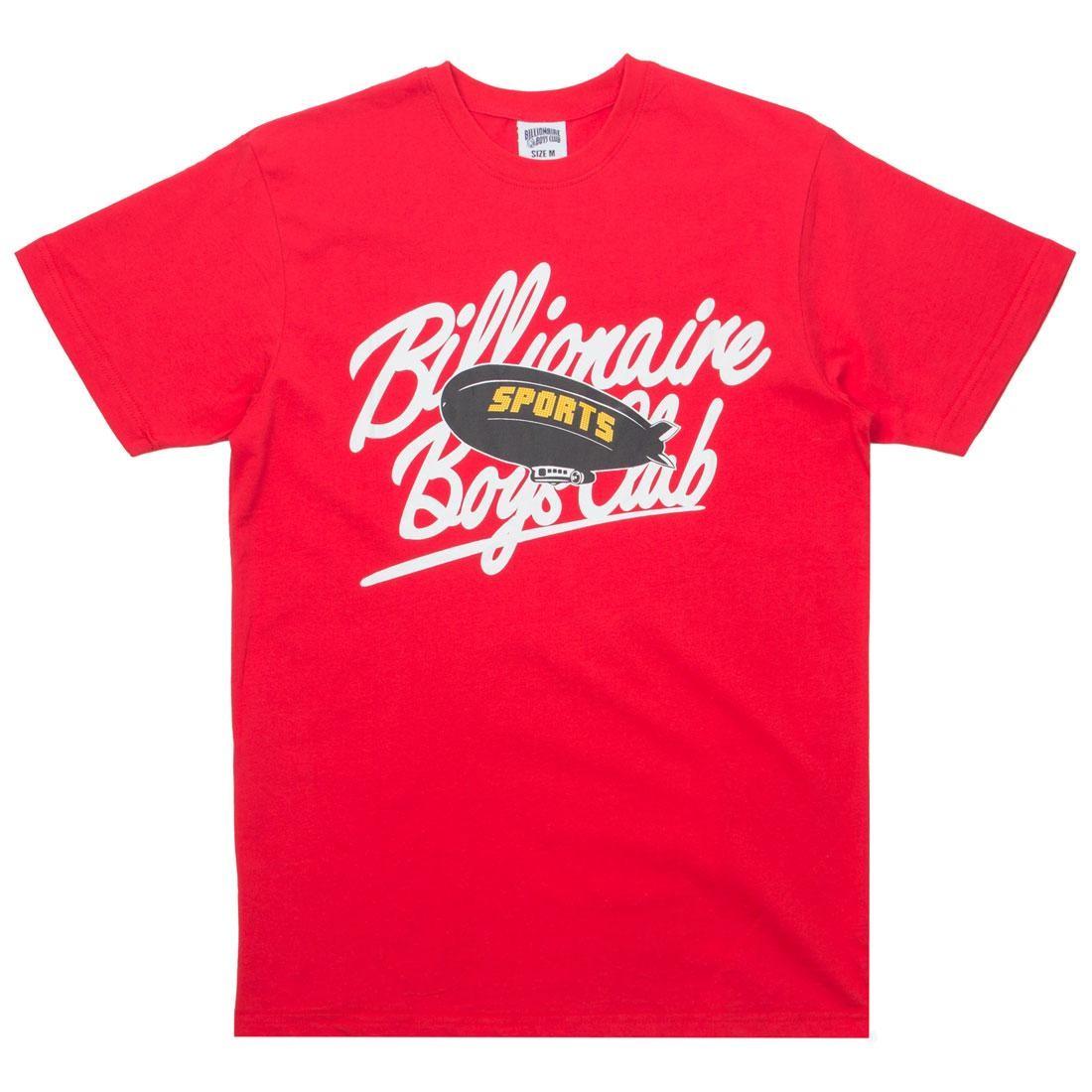ビリオネアボーイズクラブ BILLIONAIRE BOYS CLUB Tシャツ メンズファッション トップス カットソー ジュニア キッズ 【 Men Sports Tee (red) 】 Red