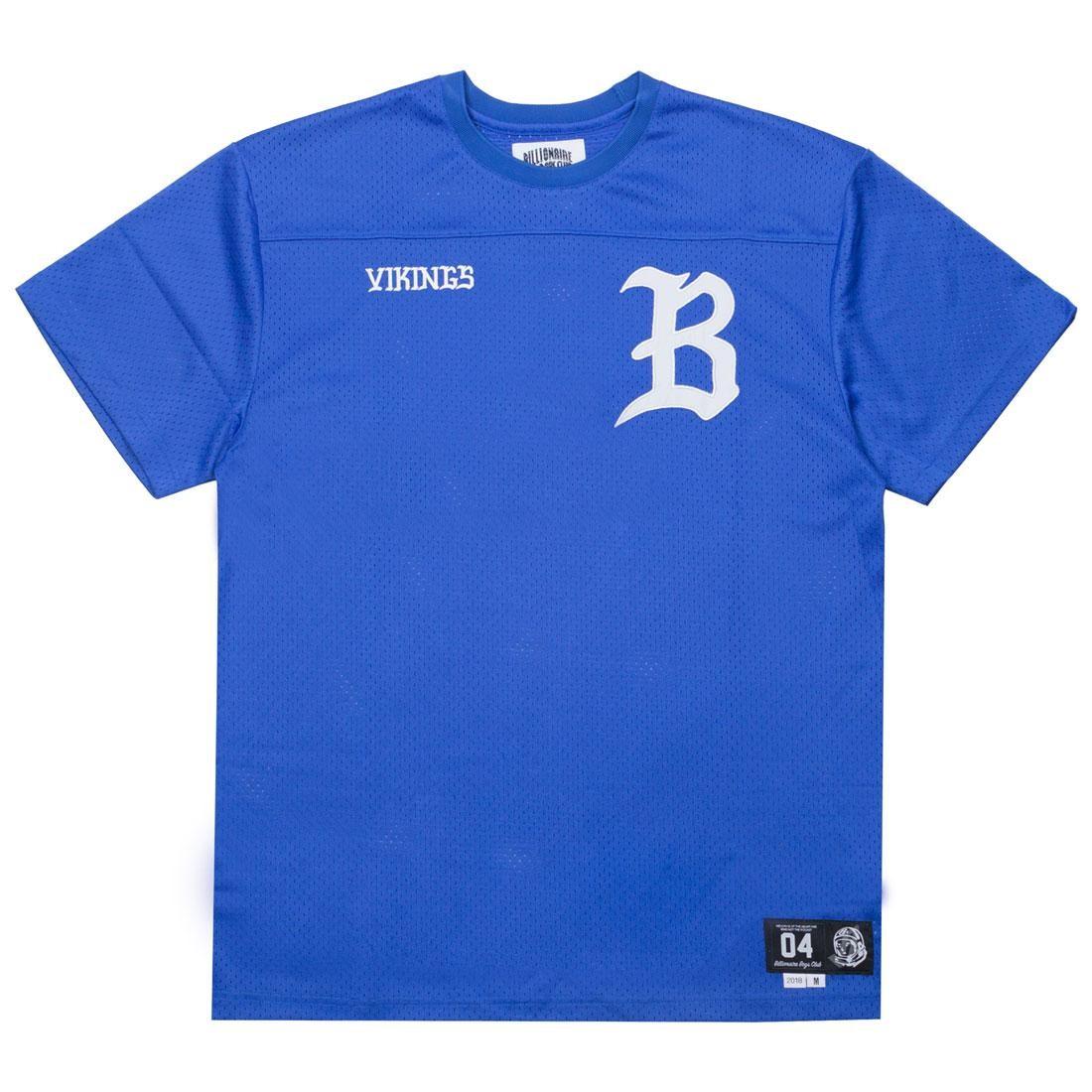 【スーパーセール中! 6/11深夜2時迄】ビリオネアボーイズクラブ BILLIONAIRE BOYS CLUB ニット Tシャツ メンズファッション トップス カットソー メンズ 【 Men Starter Knit Tee (blue / Dazzling) 】 Blue / Dazzling