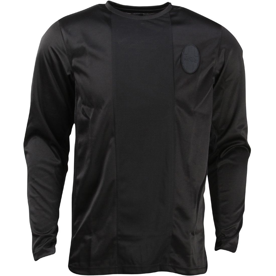 パブリッシュ Tシャツ メンズファッション トップス カットソー メンズ 【 Publish Men Sheida Long Tee (black) 】 Black