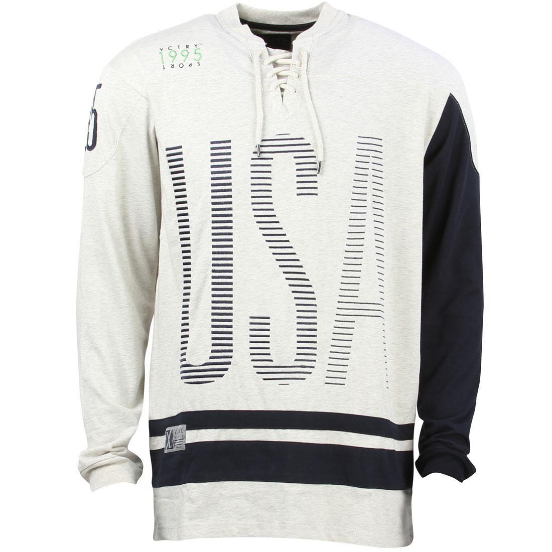 テンディープ 10 DEEP ジャージ メンズファッション トップス Tシャツ カットソー メンズ 【 Men Usa Hockey Jersey (white / Oatmeal) 】 White / Oatmeal