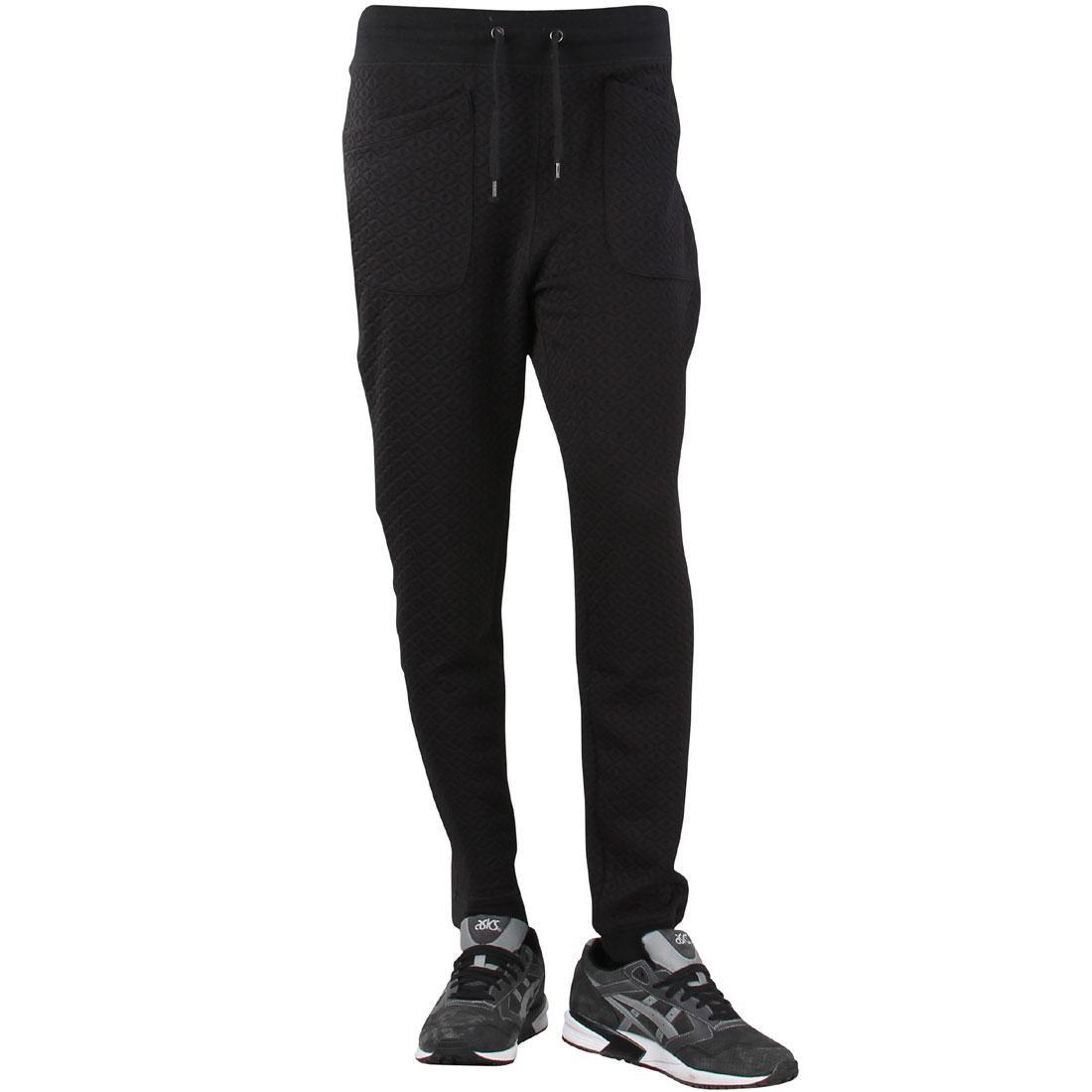 黒 ブラック 【 BLACK UNYFORME MEN LARSON PANTS 】 メンズファッション ズボン パンツ