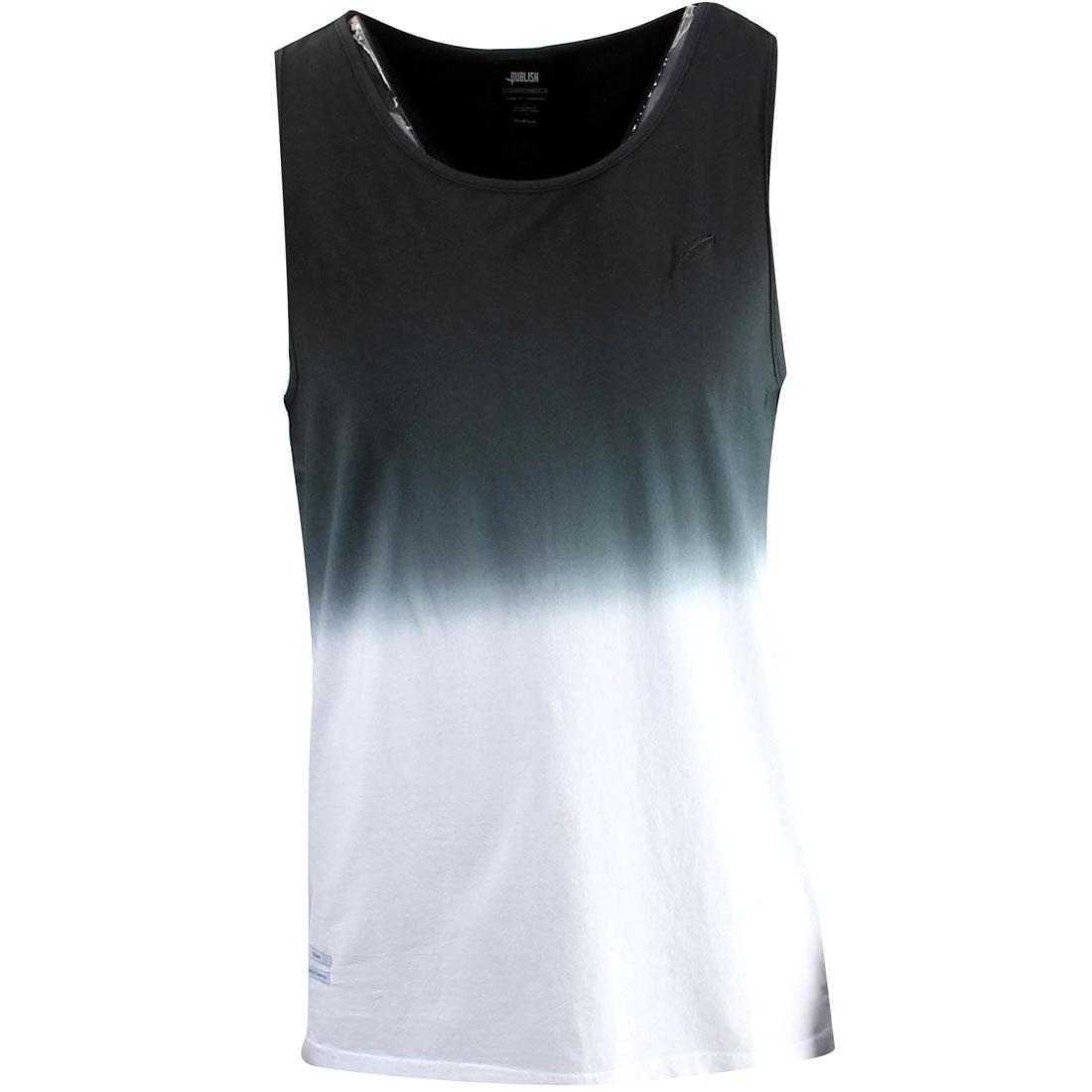 パブリッシュ タンクトップ 【 PUBLISH MEN EDSEL TANK TOP BLACK 】 メンズファッション トップス 送料無料