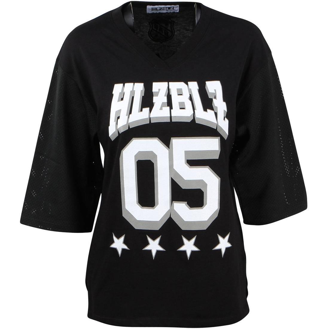 チーム ジャージ メンズファッション トップス Tシャツ カットソー レディース 【 Hlzblz Women Team Bae Jersey (black) 】 Black