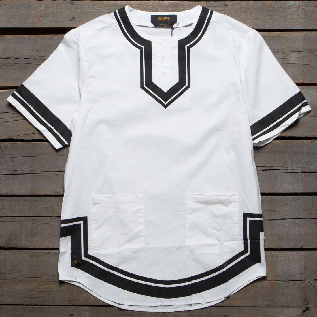【海外限定】ディープ カジュアルシャツ トップス 【 10 DEEP DVSN DASHIKI SHIRT WHITE 】