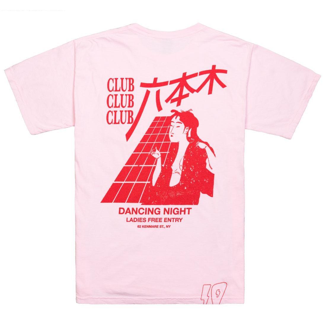 【海外限定】ディープ ナイト Tシャツ トップス カットソー 【 10 DEEP MEN DANCING NIGHT TEE PINK 】