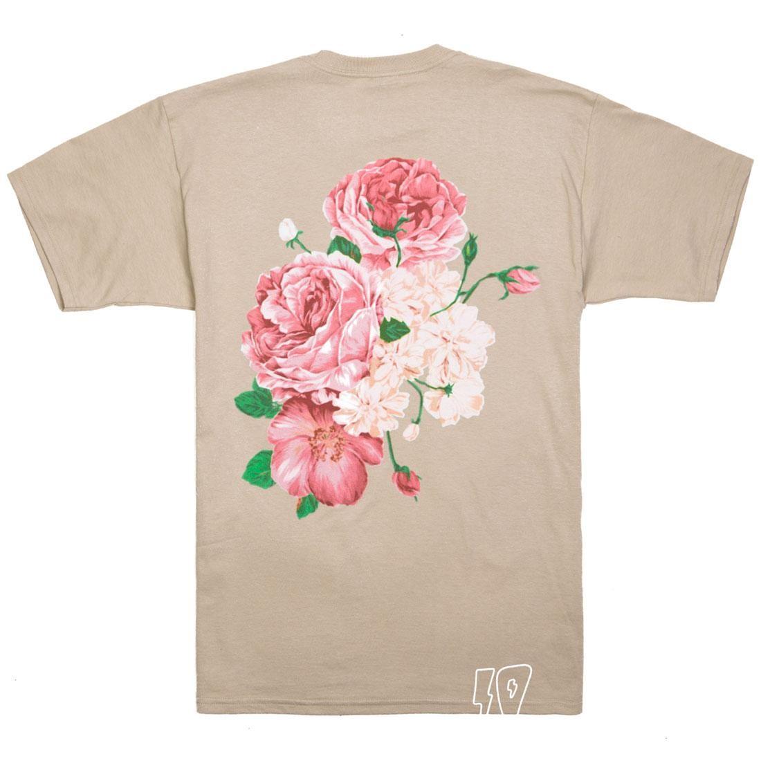 【海外限定】ディープ Tシャツ トップス 【 10 DEEP MEN IN LOVING MEMORY TEE SAND 】